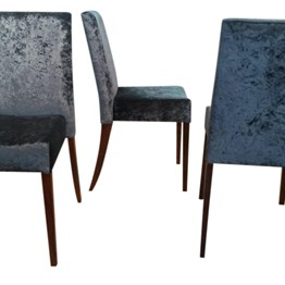 Stacker Chairs Fully Upholstered